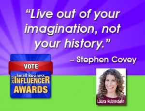 Stephen Covey Quote on imagination