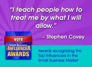 Stephen Covey Small Business Wisdom on Personal Power