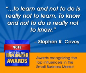 Stephen Covey Small Business Wisdom Learn