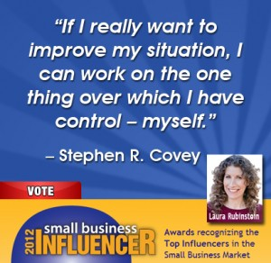 Stephen Covey quote on improvement