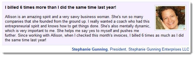Stephanie Gunning recommends Allison Maslan