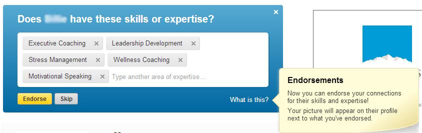 How to endorse skills on linkedin