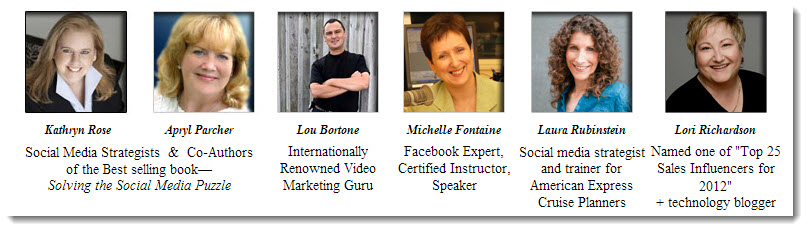 Social Media consultants Laura Rubinstein in Boston and Connecticut